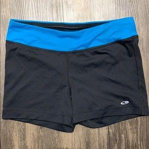 Never worn short Champion biker shorts